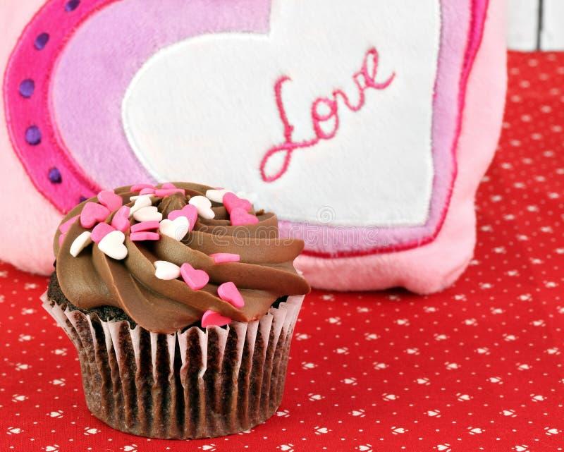 Dla Walentynka Dzień czekoladowa Babeczka