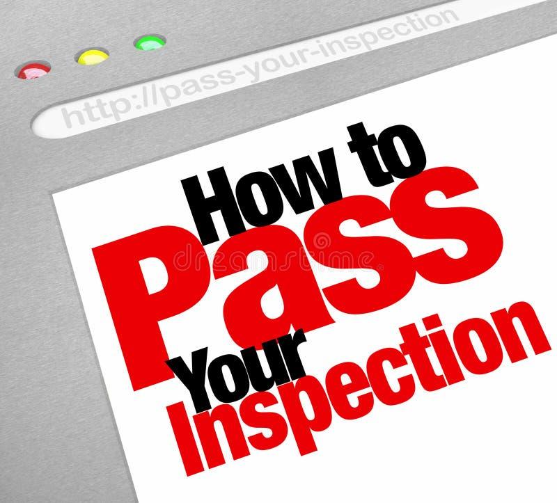 Dlaczego Przechodzić Twój inspekcję Formułuje strony internetowej Internetowej strony ekran ilustracji