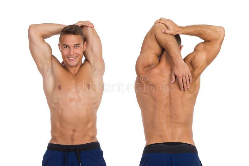 Dlaczego Rozciągać Triceps obraz royalty free