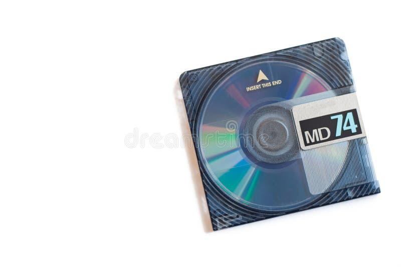 DM, Mini Disc fotografia de stock