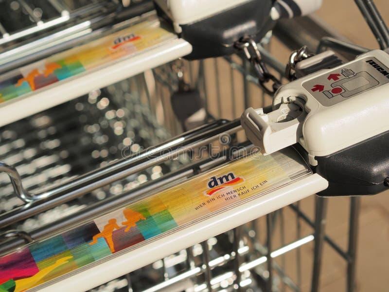 DM shopping carts