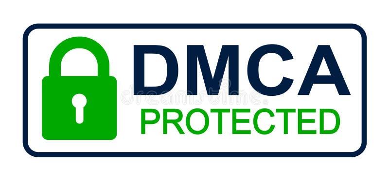 DMCA - Digital Millennium Copyright Act - vector libre illustration
