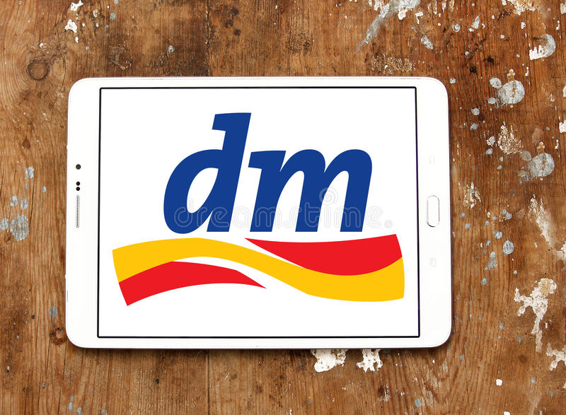 Dmdrogerie markt商标 免版税库存照片
