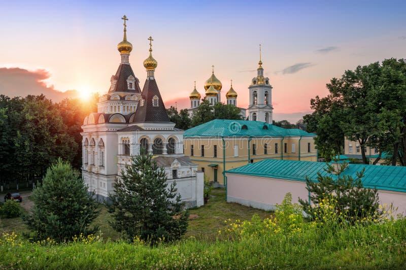 Dmitrov Kremlin fotografia stock
