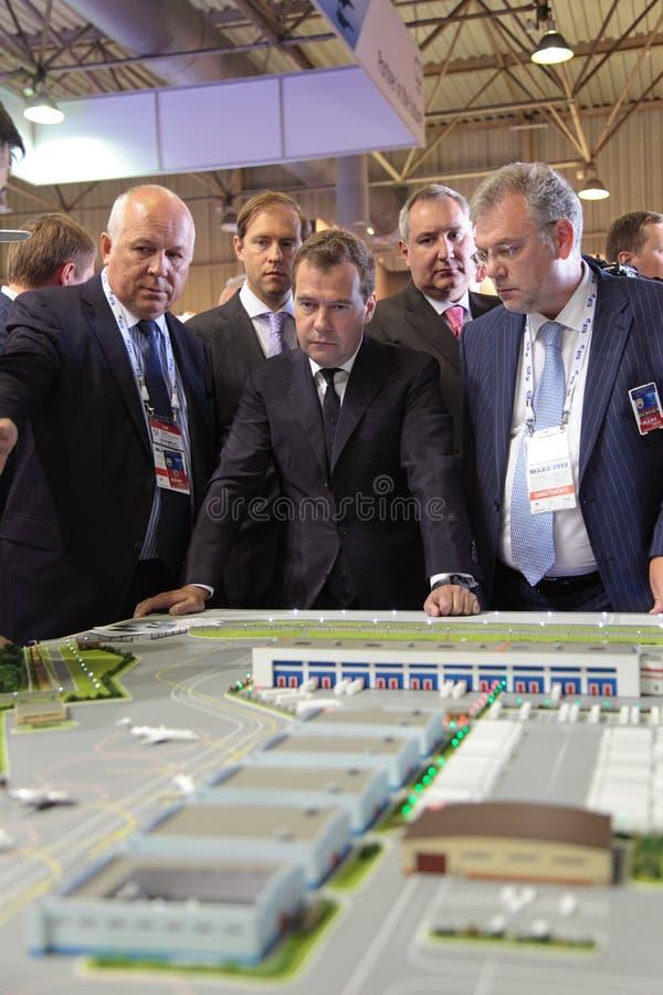 Dmitry Medvedev fotos de archivo