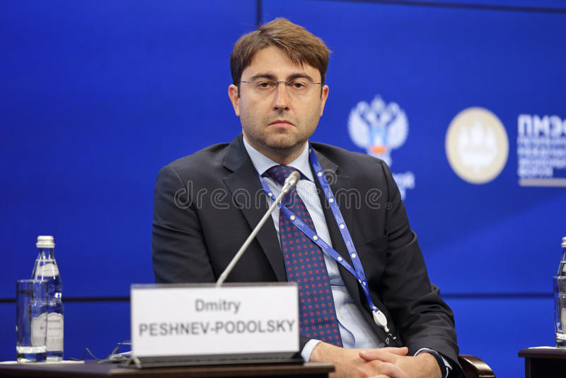 Dmitry Peshnev-Podolsky imagens de stock