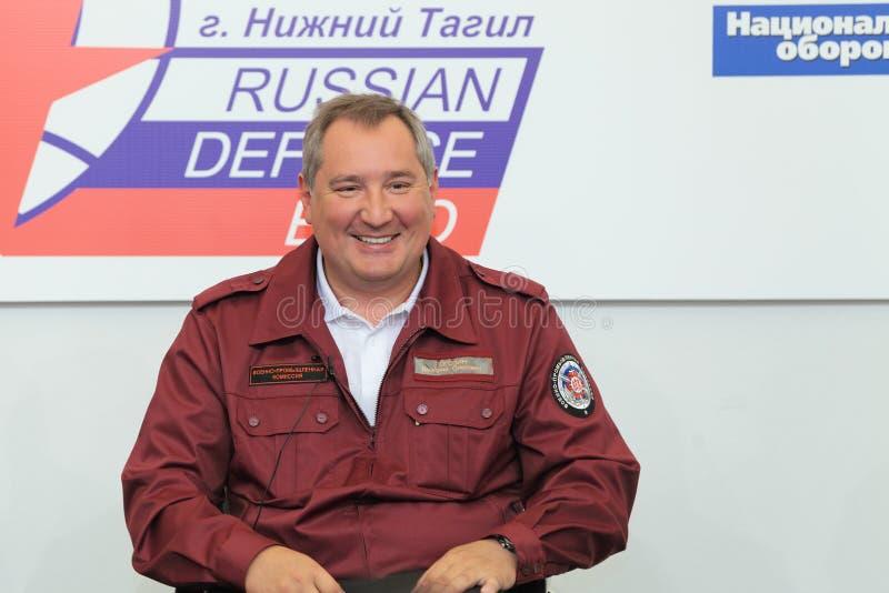Dmitry Rogozin stock foto's