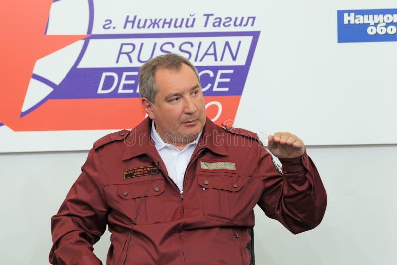Dmitry Rogozin royalty-vrije stock fotografie