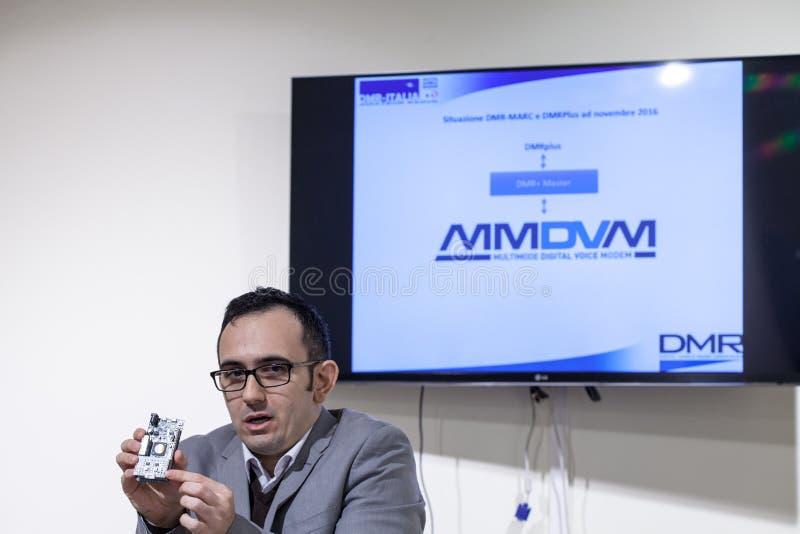 DMR Italy First réunion en novembre 2016 image libre de droits
