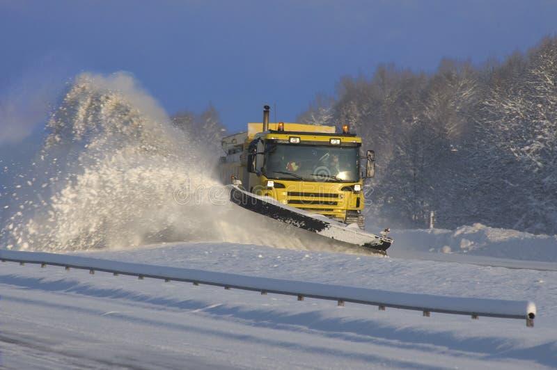 dmuchawa śnieg zdjęcia royalty free