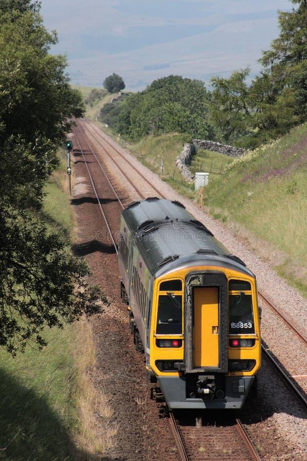 Dmutrein op Settle aan de spoorlijn van Carlisle royalty-vrije stock fotografie