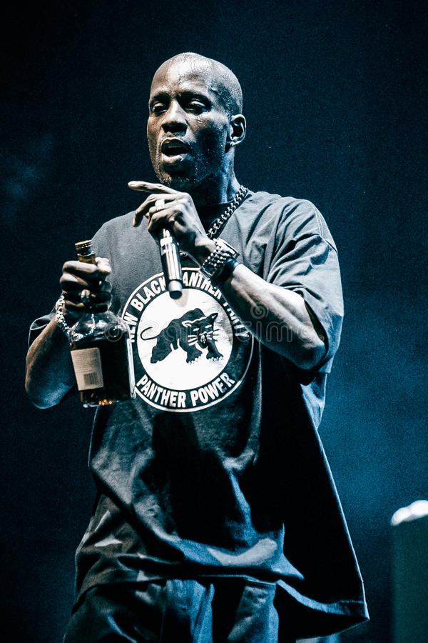 Free DMX Peforming In Moscow, Russia Stock Images - 51845704