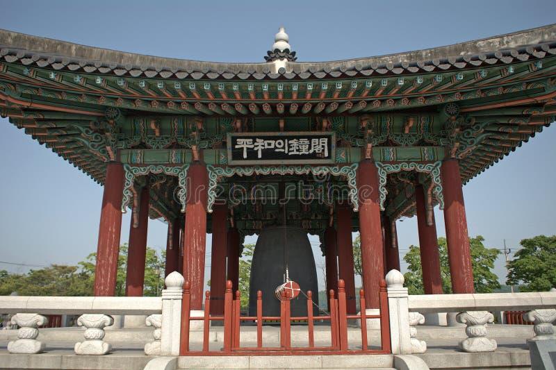 DMZ的Imjingak公园,韩国共和国 免版税库存照片