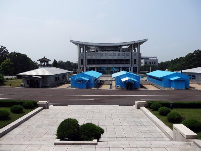 DMZ do DPRK imagem de stock