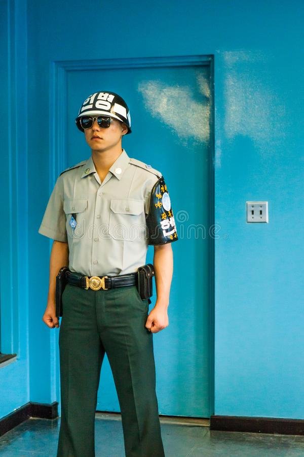 The DMZ stands for demilitarised zone and is the border zone wit royalty free stock photos