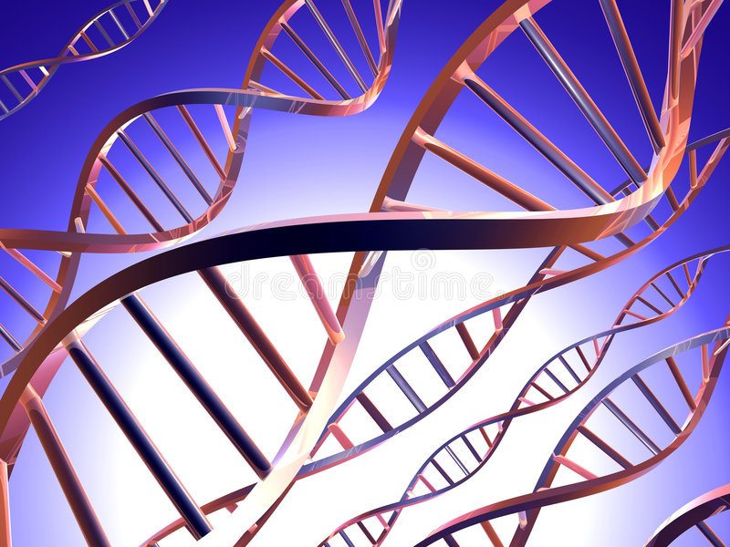 DNA 1 stock illustratie