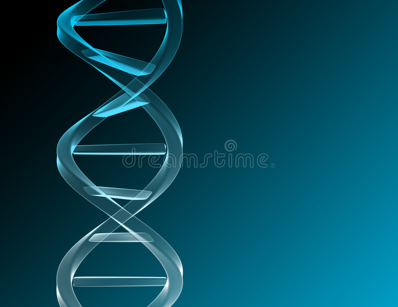 Download DNA stock illustration. Image of twist, helix, blue, macro - 1029221