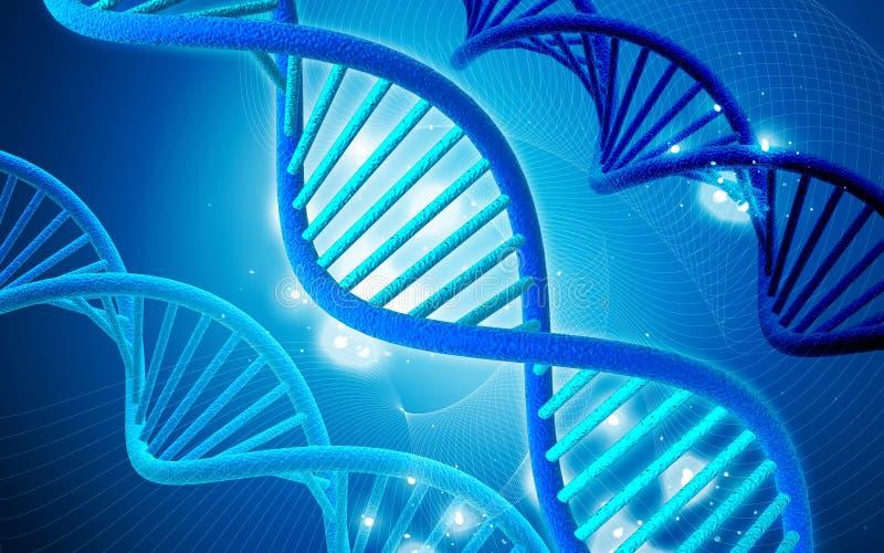 Download Dna stock illustration. Image of science, blue, biology - 14416761