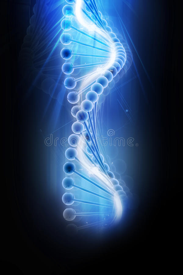 DNA libre illustration