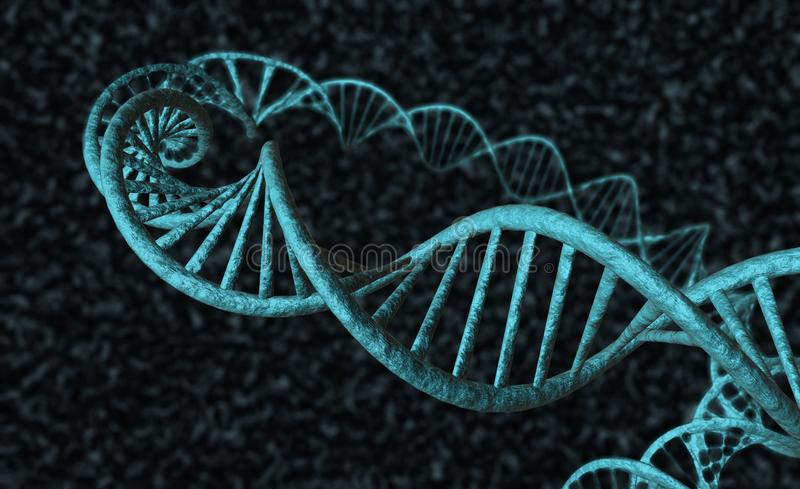 Download DNA - 2 stock illustration. Image of neutron, atom, illustrations - 26813727