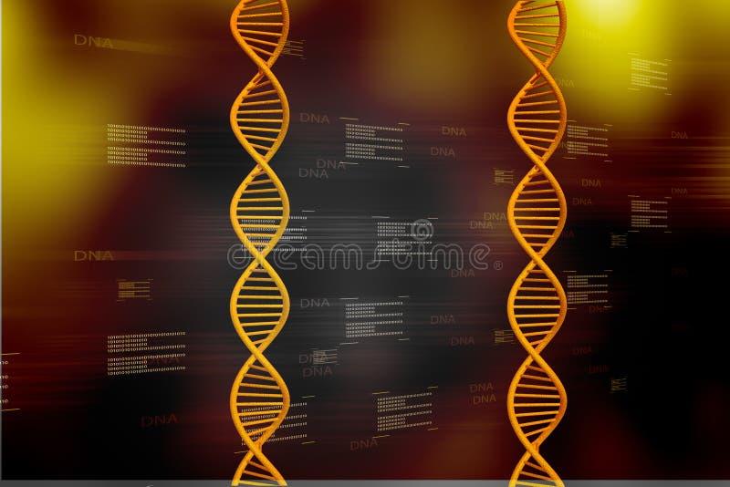 Download DNA stock illustration. Illustration of render, motion - 20241268