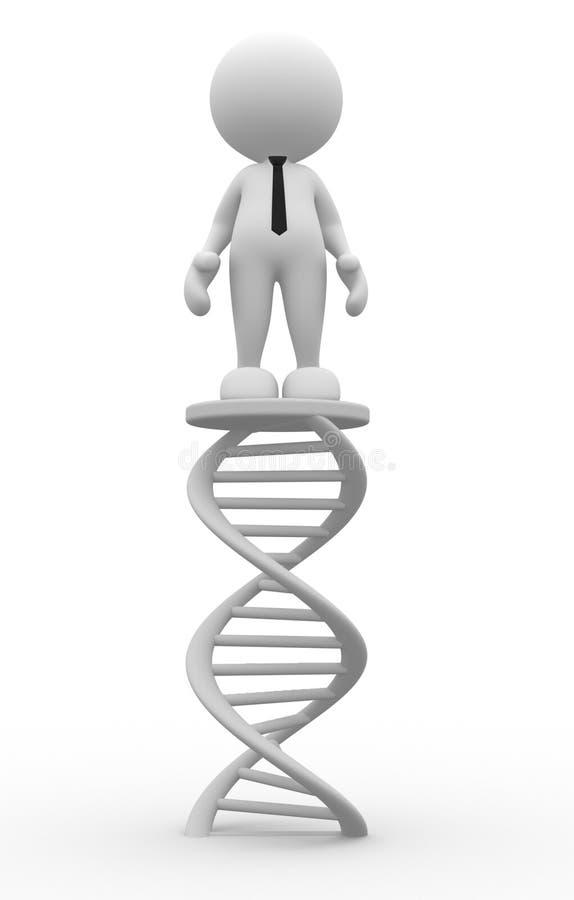 DNA stock de ilustración