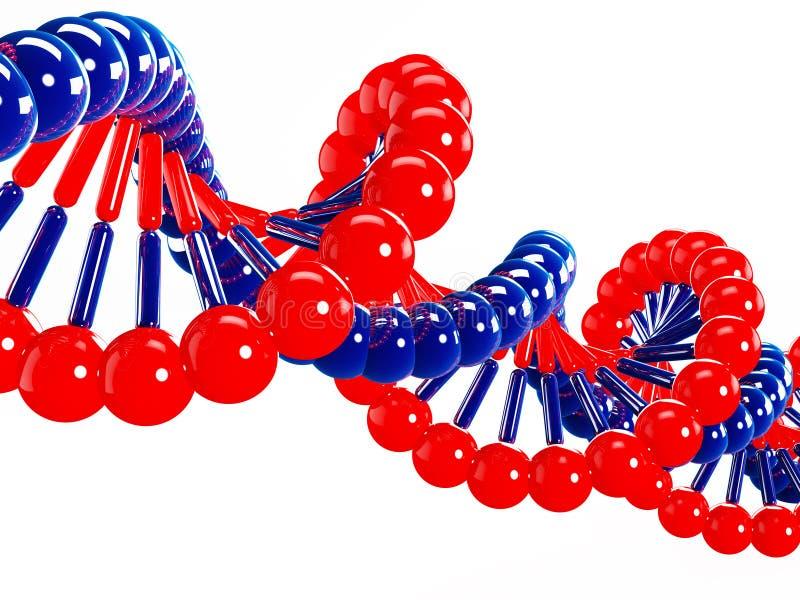DNA royalty free illustration