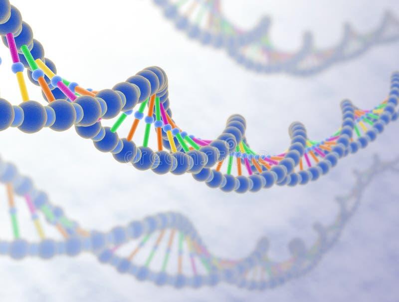 DNA 3 lizenzfreie abbildung