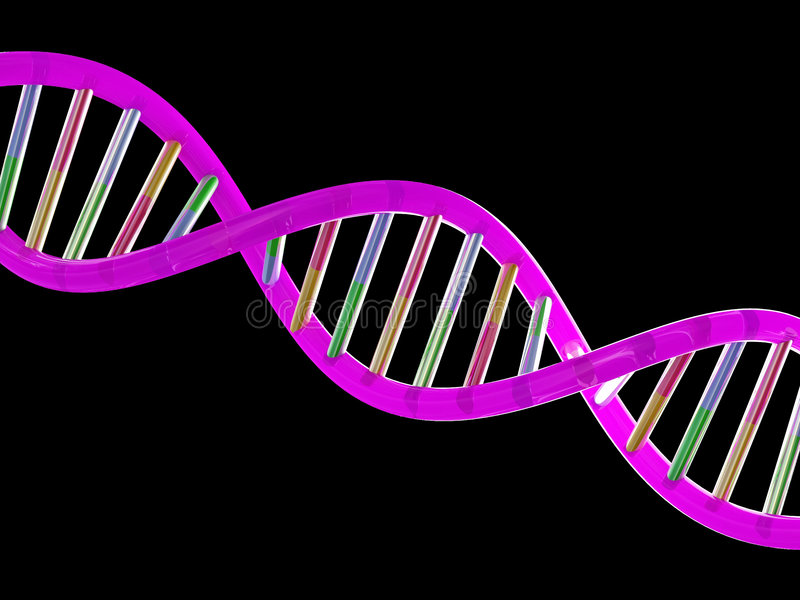 DNA stock illustratie