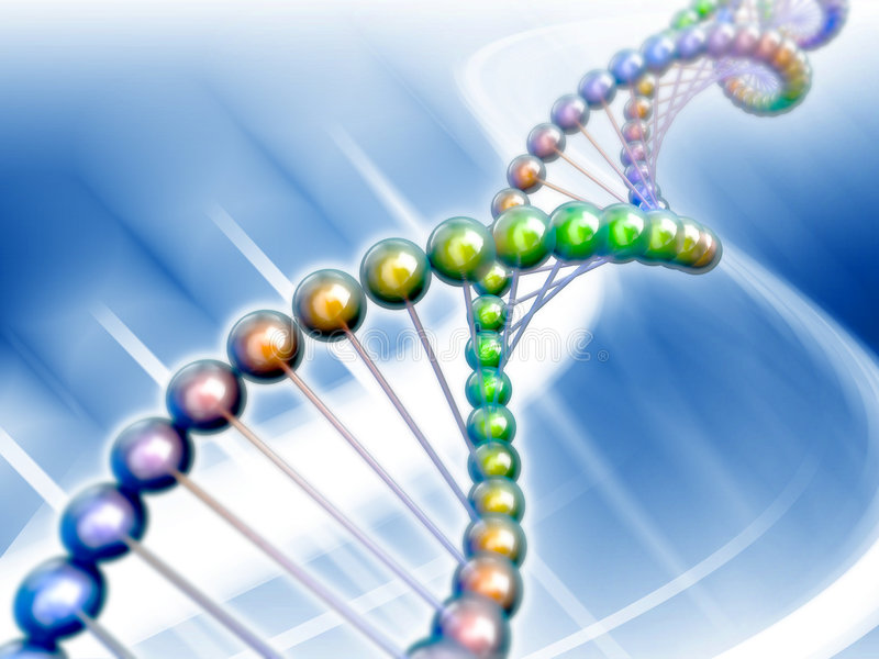 Dna. Genetic code 3d concept abstract