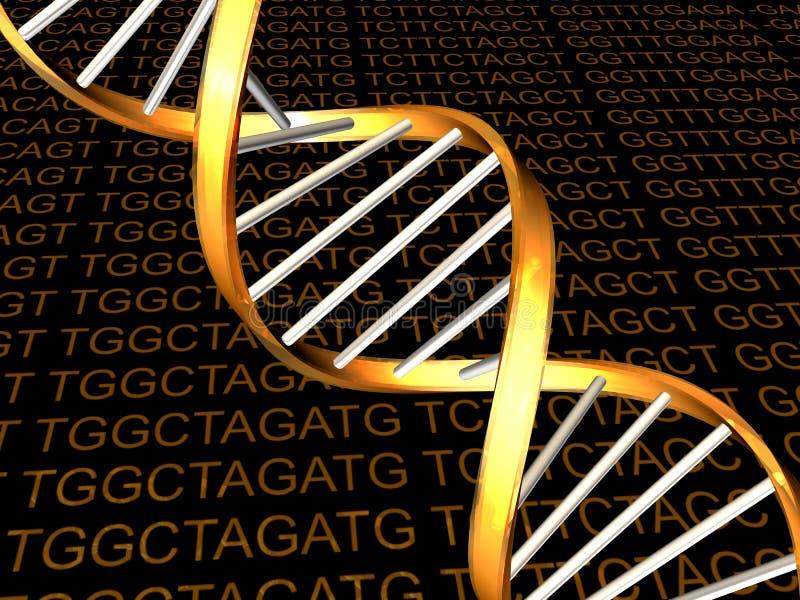 DNA foto de archivo