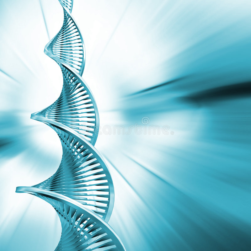 DNA Abstract stock illustration
