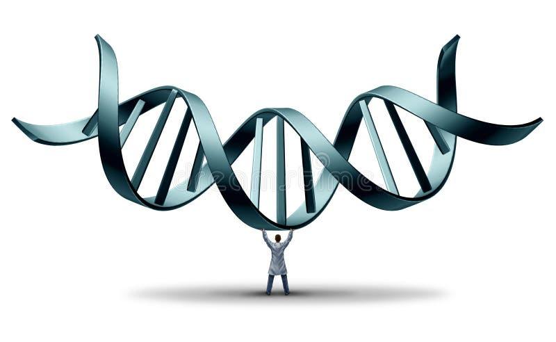 DNA-Arts vector illustratie