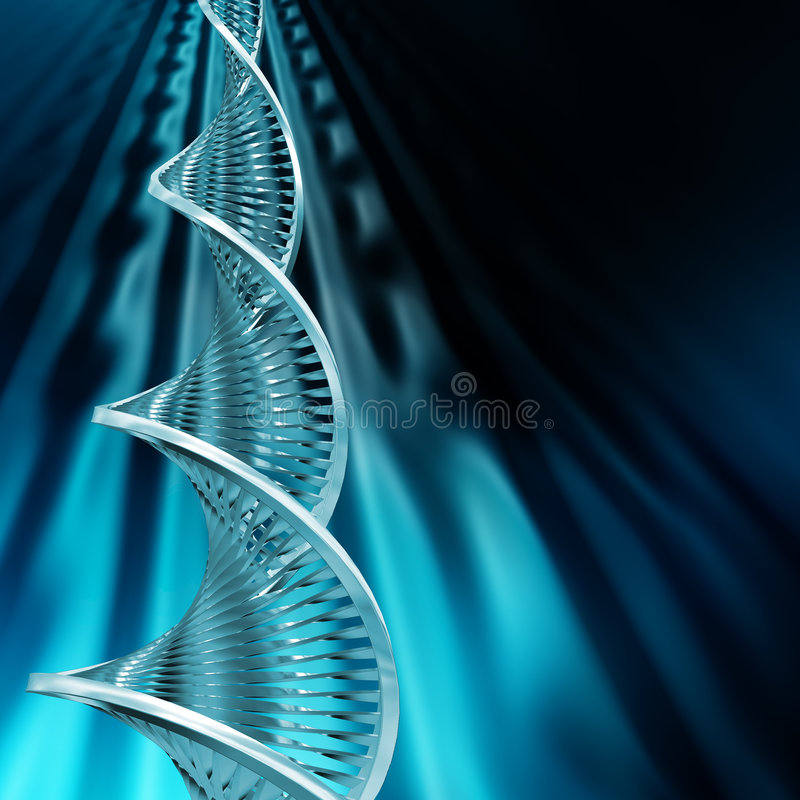 DNA-Auszug stock abbildung