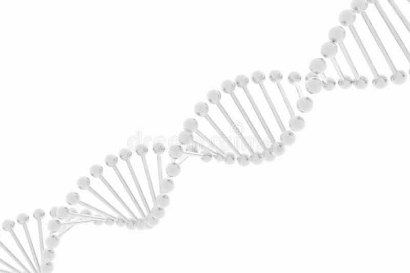 DNA background vector illustration
