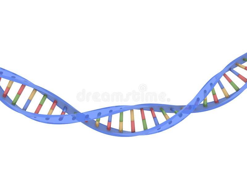 DNA-Baumuster stock abbildung