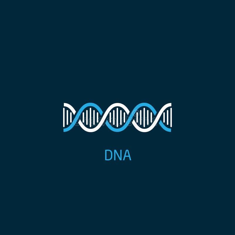 DNA-Ikone vektor abbildung