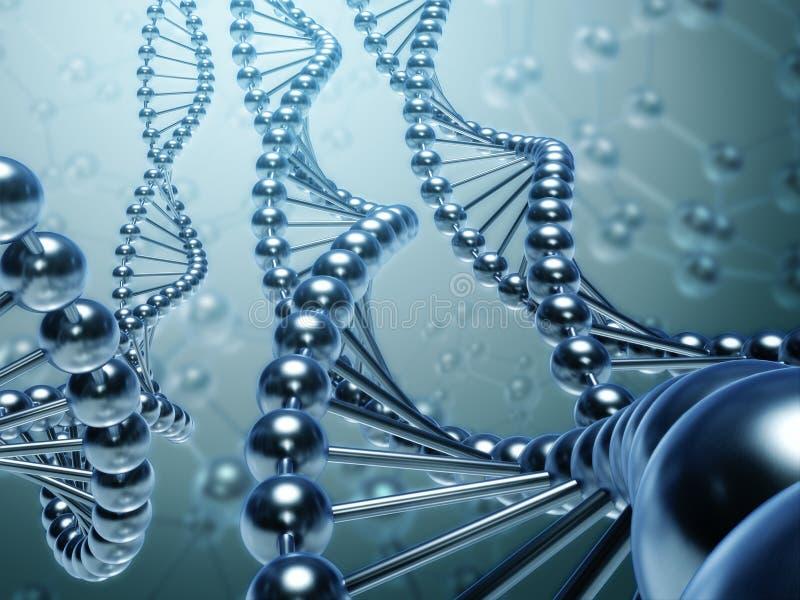 DNA-Konzept vektor abbildung