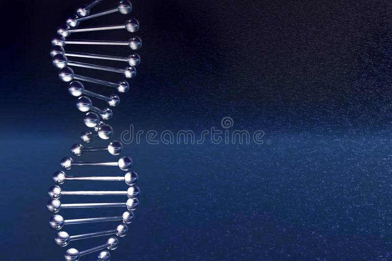 DNA molecule stock illustration