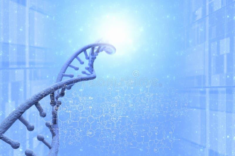 DNA molekuła obraz stock