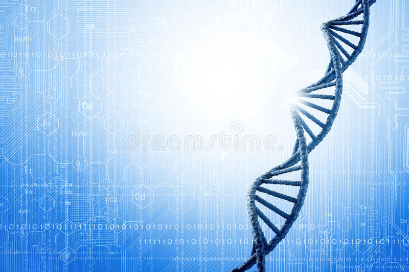 DNA molekuła obrazy royalty free