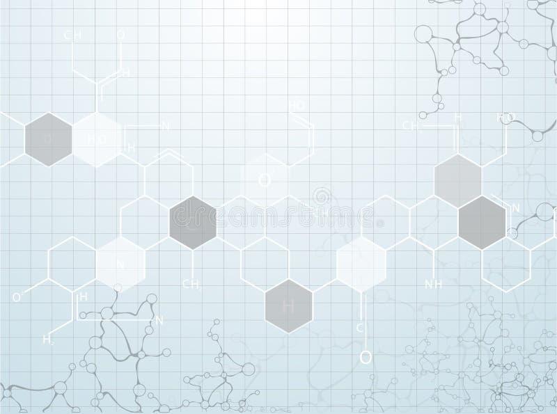 dna-molekyl, abstrakt begrepp royaltyfri illustrationer