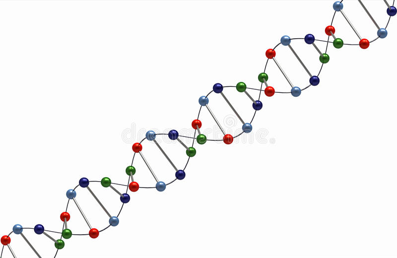 Download DNA render stock illustration. Illustration of medicine - 15942942