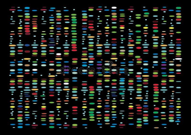DNA-Resultaten royalty-vrije stock afbeeldingen