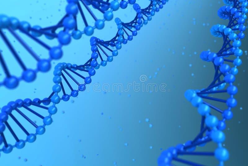 DNA-Schnecke stock abbildung