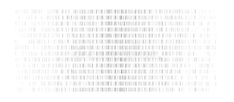 DNA-test, genom kaart royalty-vrije illustratie
