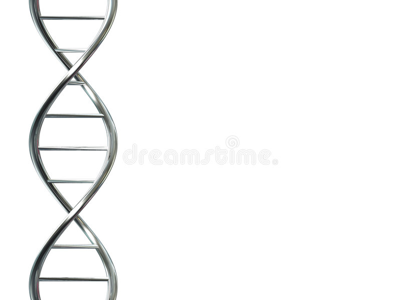 dna-tråd vektor illustrationer