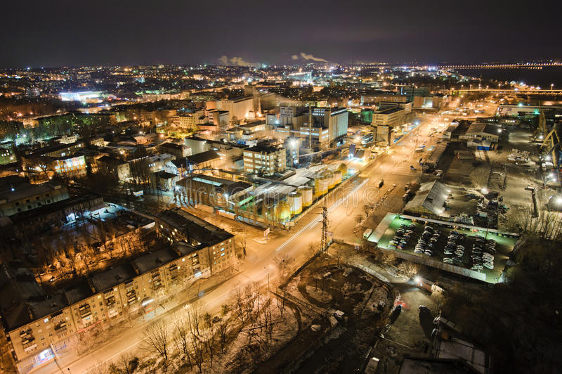 Download Dnepropetrovsk Industrial District Stock Image - Image: 17538871