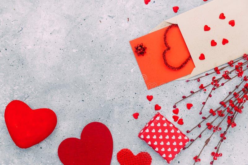 dni serc valentines tło obrazy stock