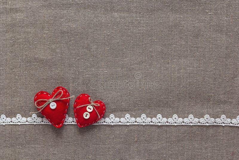 dni serc valentines tło zdjęcie stock